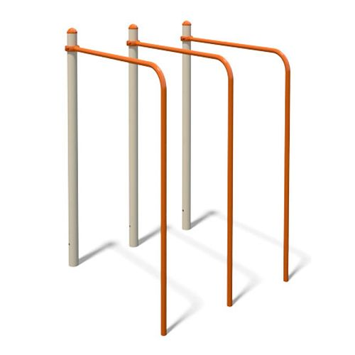 InterAtletika S834.5 Triple parallel bars 0,6x1,1x1,5m