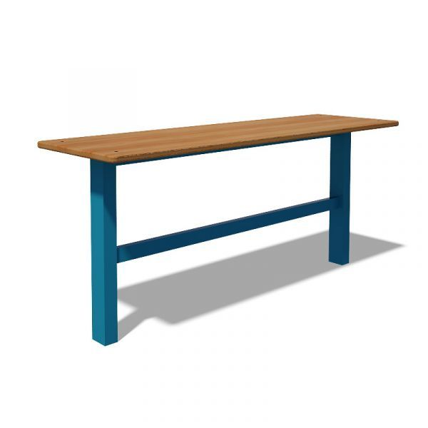 InterAtletika S741 Plywood Bench