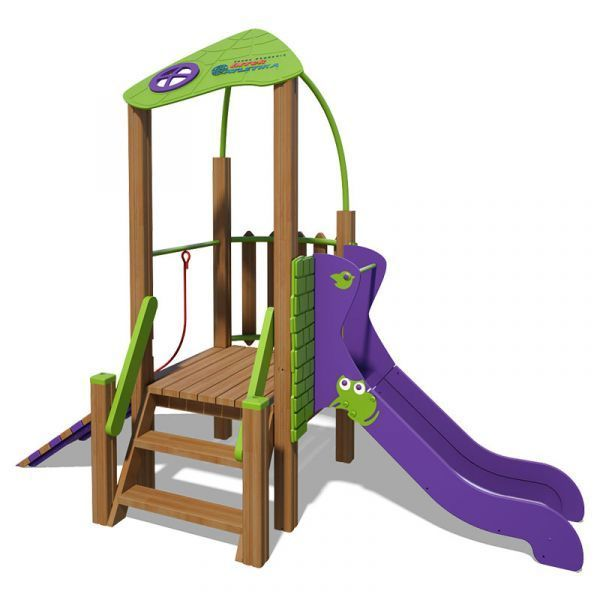 The Champion Playground Complex T814 New (green-violet)