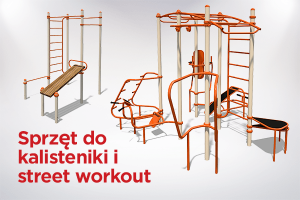 Sprzęt do kalisteniki i street workout