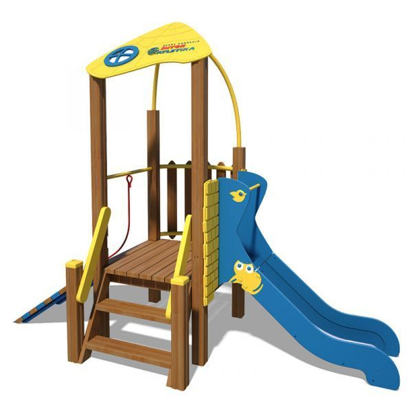 The Champion Playground Complex T814 New (yellow and blue)
