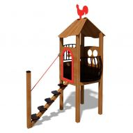 Wooden House Playground Complex T816