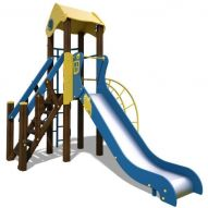 The Toddler-New Playground Complex (blue and yellow) T801