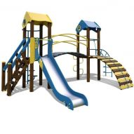 The Gnome Playground Complex T802 New (yellow and blue)