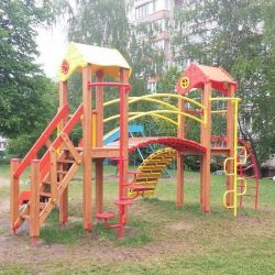 The Gnome Playground Complex T802 New (yellow and red)