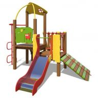The Toddler Playground Complex New TE810 (red, green and orange)
