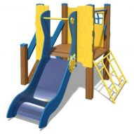 The Champion-1 Playground Complex T815 New (Yellow and blue)