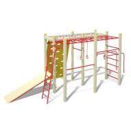 InterAtletika Monkey Bar Gymnastic Set S725