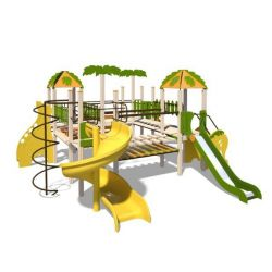 Playgrounds for children of 3-6 Years Old