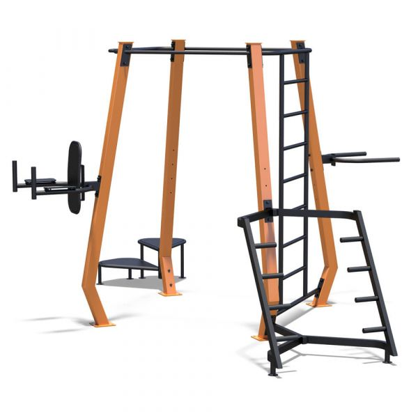 InterAtletika SM801 MultiFitness Station Medium