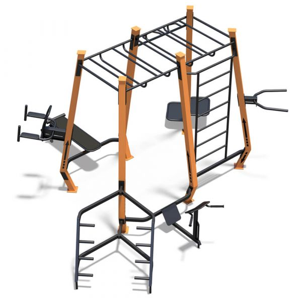 InterAtletika SM802 MultiFitness Station Maxi